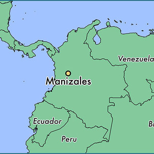 Medium manizales colombia  map